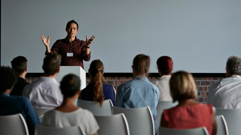 experience on public speaking For most people, public speaking is the worst form of torture you hope for the best.